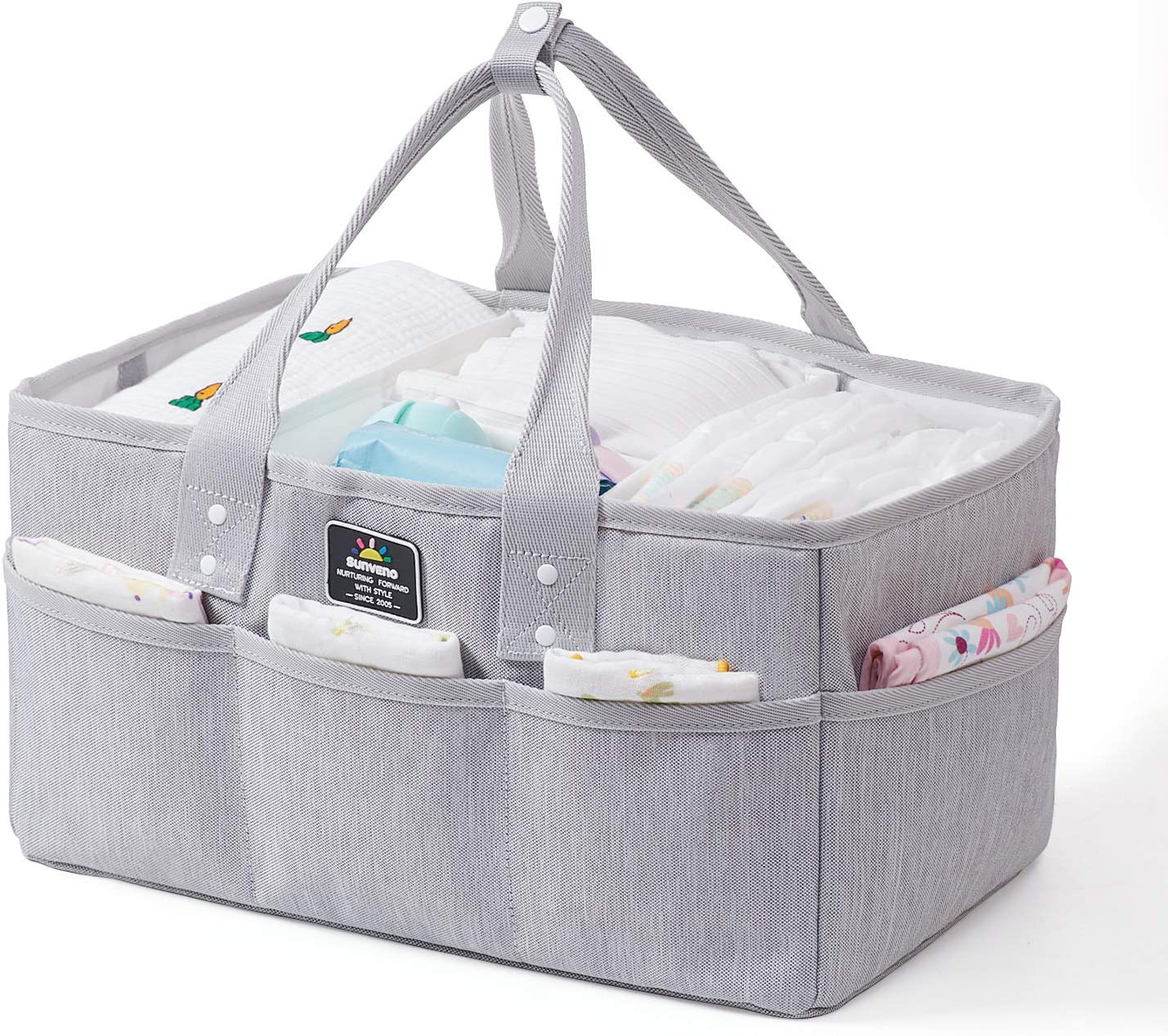 Max 57% OFF SUNVENO Baby Diaper Caddy Organizer Organizers and Large Max 78% OFF S
