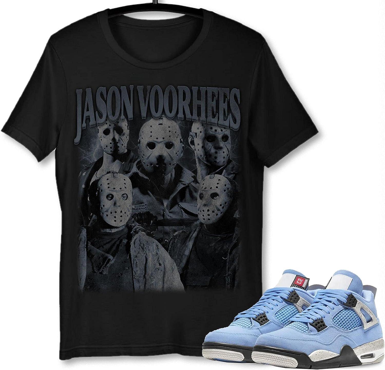 Finally resale start #Jason #Voorhees T-Shirt to Match Max 65% OFF 4 Blue Sneak University Jordan