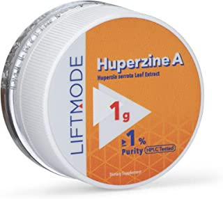 LiftMode Huperzine A Powder Supplement - Supports Focus & Cognition, Enhances Memory & Learning Ability, Huperzia Serrata ...