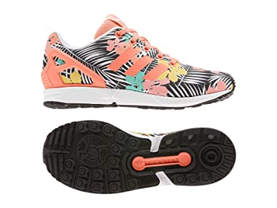 adidas Originals Kids ZX Flux (Big Kid) (Chalk Coral/White) Girls Shoes