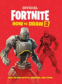FORTNITE Official How to Draw Volume 2: Over 30 Weapons, Out