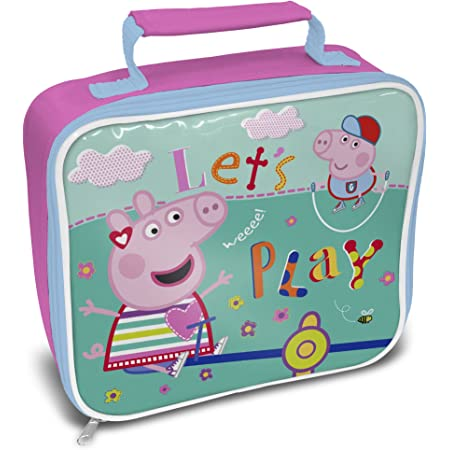 Personalization Peppa Pig Lunch Bag with Strap