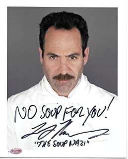 Seinfeld Soup Nazi Autographed Signed Photograph - UNFRAMED