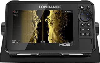 HDS-7 LIVE - 7-inch Fish Finder No Transducer Model is compatible with StructureScan 3D and Active Imaging Sonar. Smartphone integration.  Preloaded C-MAP US Enhanced mapping