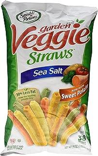 Sensible Portions Garden Veggie Straws Sea Salt 20 Oz. (1.25 Lb.) Bag