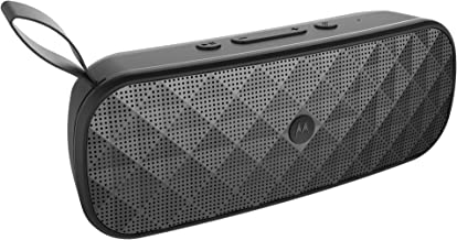 Motorola Sonic Play+ 200 Water Resistant Stereo Bluetooth Speaker - Black