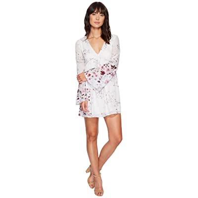 The Jetset Diaries Flora Mini Dress (Patwork Floral) Women