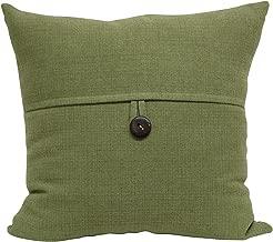 Brentwood Originals Stafford Pillow, 18 x 18, Moss