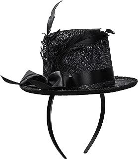 Jacobson Hat Company Women's Adult Mini Glitter Top Hat Headband
