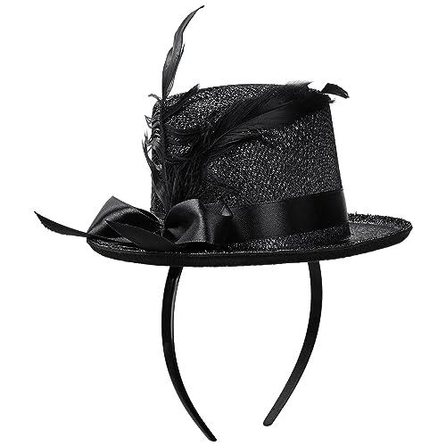7003929d7fe Jacobson Hat Company Women s Adult Mini Glitter Top Hat Headband