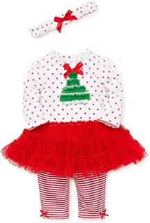 baby girl christmas tree outfit