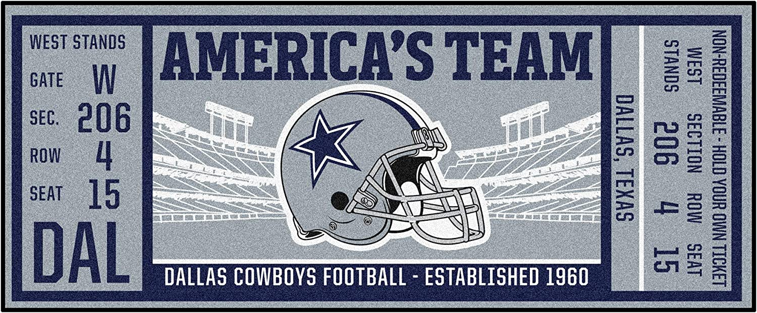 FANMATS NFL Dallas In stock Milwaukee Mall Cowboys NFL-Dallas Runner Cowboysticket Team