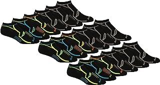 mens Multi-pack Bolt Performance Comfort Fit No-Show Socks