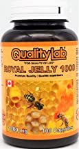 Sponsored Ad - QualityLab Royal Jelly 1000 mg 100 softgel Capsules (Made in Canada)