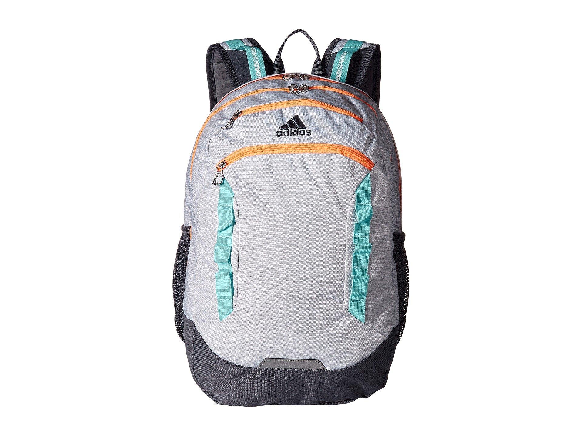 Adidas Originals Excel III mochila, blanco Jersey / flash naranja