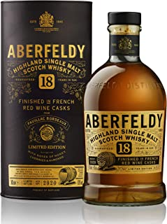 Aberfeldy Pauillac Wine Cask Limited Edition Single Malt Whisky 1 x 0.7l
