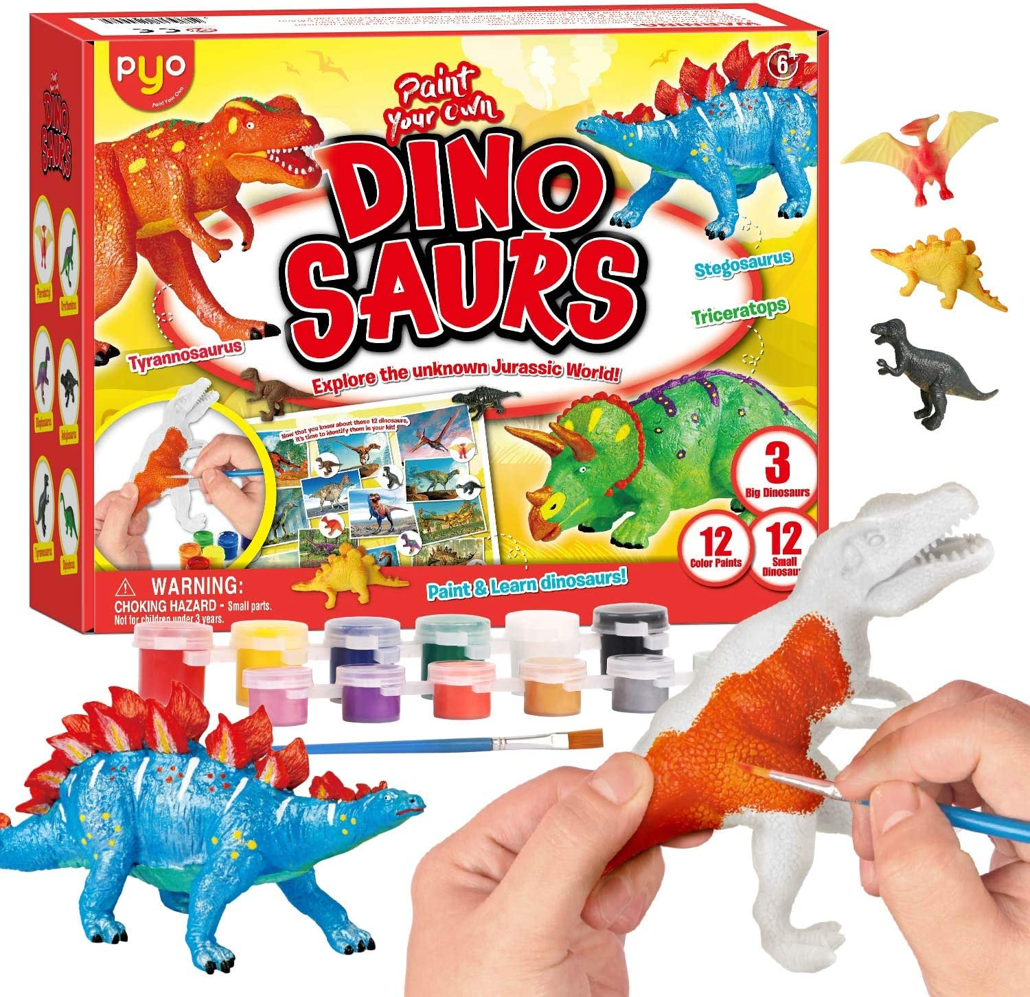 TONYBUTY Dinosaur Painting Kit Al sold out. Kids Outlet sale feature Crafts Toy