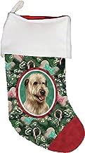 Best of Breed Irish Wolfhound Wheaten Dog Breed Christmas Stocking