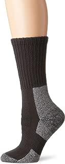 Thorlos Women's Thick Padded Trail Hiking Socks, Crew, Castlerock Grey, Medium (Womens's Shoe Size 7.0-9.0)