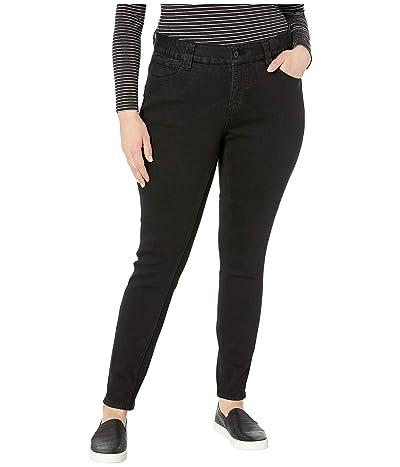 Jag Jeans Plus Size Plus Size Cecilia Skinny Jeans (Black Void) Women