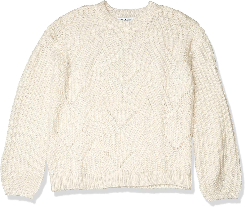 William Rast Women's Heidi Crew Neck Sweater Pullover