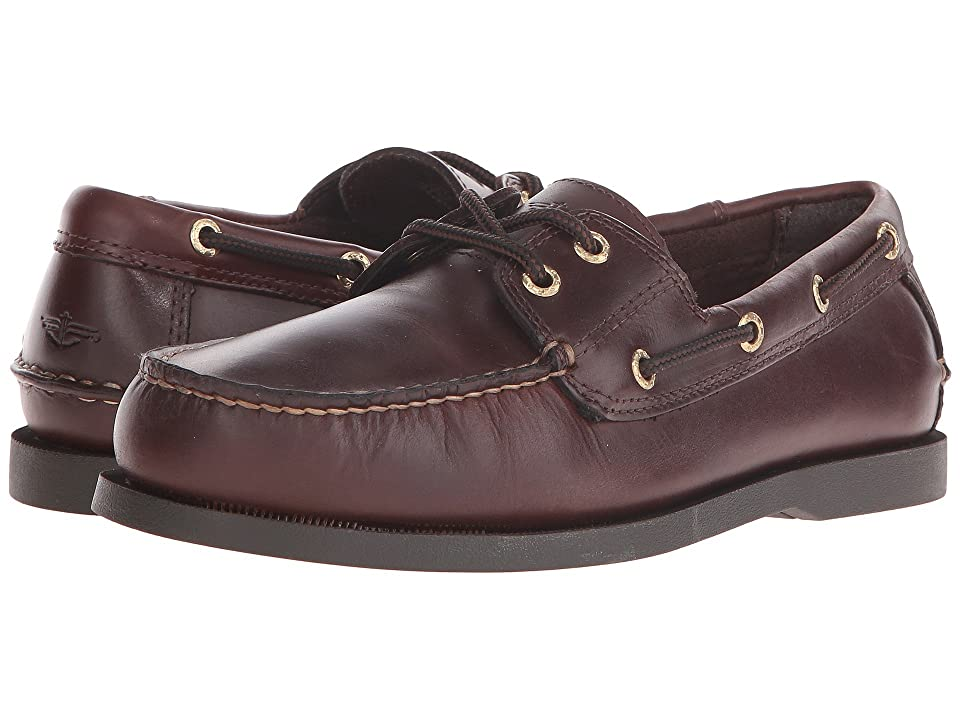 Dockers Vargas Boat Shoe (Raisin Pull-Up) Men