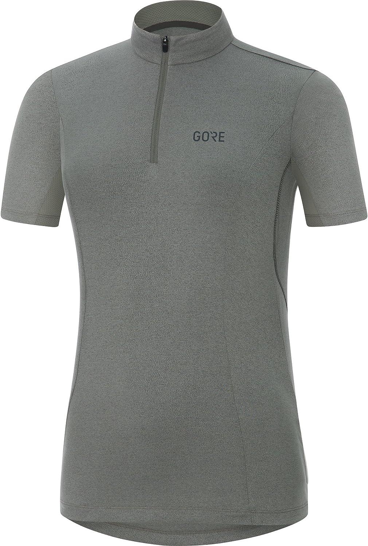 GORE Wear Women's Breathable Short Sleeve Cycling Jersey, GORE Wear C3 Women Jersey, 100043
