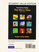 Student Value Edition for Economics Today: The Micro View Plus NEW MyEconLab with Pearson eText -- Access Card Package (16th Edition)