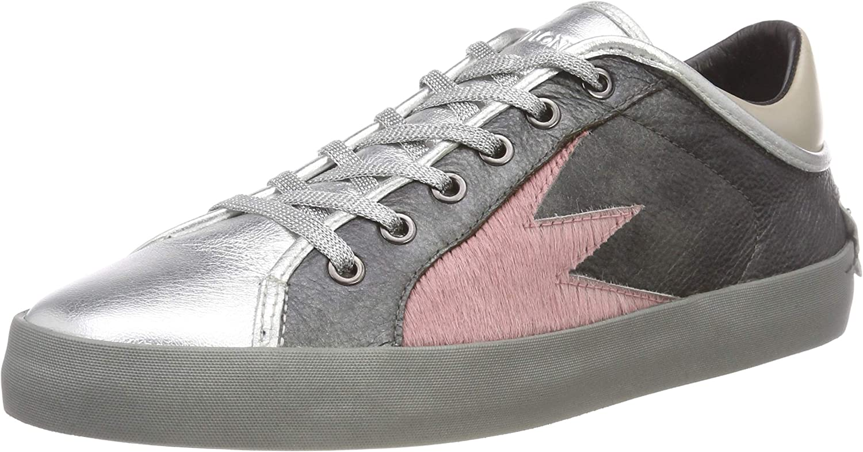 Crime London Women's 25062aa1.32 Low-Top Sneakers Grey