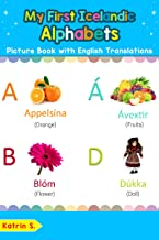 Bilingual Early Learning /& Easy Teaching Icelandic Books for Kids My First Icelandic Things Around Me at School Picture Book with English Translations