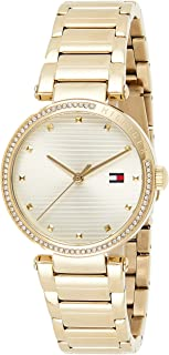 Tommy Hilfiger Womens Analogue Quartz Watch Lynn with Stainless Steel Band