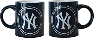 Boelter Brands MLB New York Yankees 14-Ounce Sublimated Warm Up Mug (2-Pack)