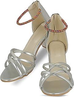 MONAQI Women's Heel Sandal