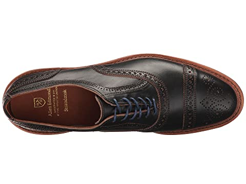 Black Allen Leather Edmonds Strandmok Chromexcel EEwq67vn