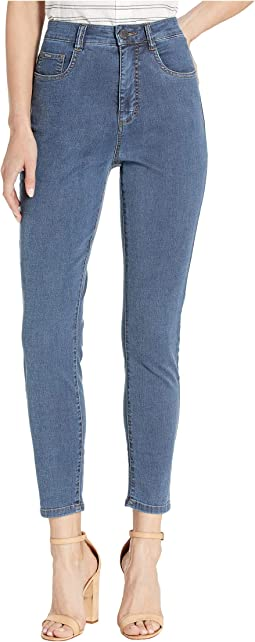 Lightweight Suzanne Slim Ankle in Denim