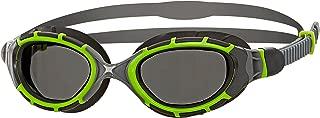 Zoggs Unisex Predator Flex 2.0 Titanium Reactor Swimming Goggles With Anti-fog