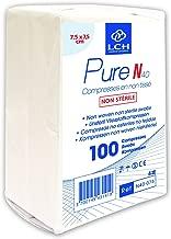LCH Ne se D/éforment Pas Compatible avec toutes les Solutions Antiseptiques Compresses Pure SN Non Tiss/é St/ériles Douces au Toucher N/'adh/érent pas /à la Peau SN30-1002