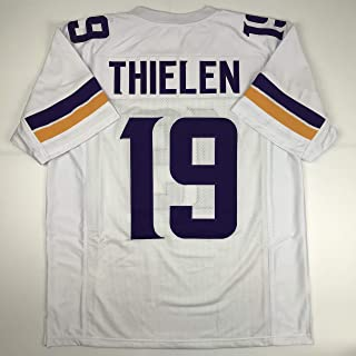 Unsigned Adam Thielen Minnesota White Custom Stitched Football Jersey Size Men`s XL New No Brands/Logos