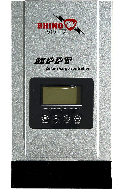 RHINOVOLTZ Mppt Solar Charge Controller Auto Detecti 48V OFFicial mail order Max 66% OFF 24V 12V