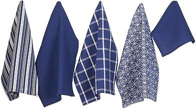 DII 100% Cotton, Ultra Absorbent, Oversized, Washing, Drying, Basic Everyday Kitchen Dishtowel 18 x 28 & Dishcloth 13 x 1...