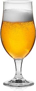 Libbey Craft Brews Belgian Ale Beer Glasses, 16.5-ounce, Set of 6