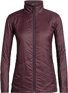 Icebreaker Merino Women's Helix Jacket, X-Large, Velvet