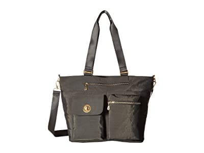 Baggallini International Hong Kong Laptop Tote (Charcoal) Cross Body Handbags