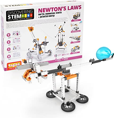 Venta barata Engino STEM Newton's Laws Inertia Momentum Kinetic and Potential Potential Potential Energy Toy by Engino  precios razonables
