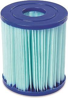 Set de Dos Filtro de Agua Anti-Microbial Tipo I para Depuradora de Cartucho Bestway 1.249 l/h