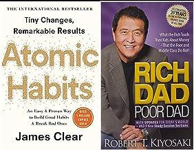 Atomic Habits + Rich Dad Poor Dad (Bestseller Books Combo)