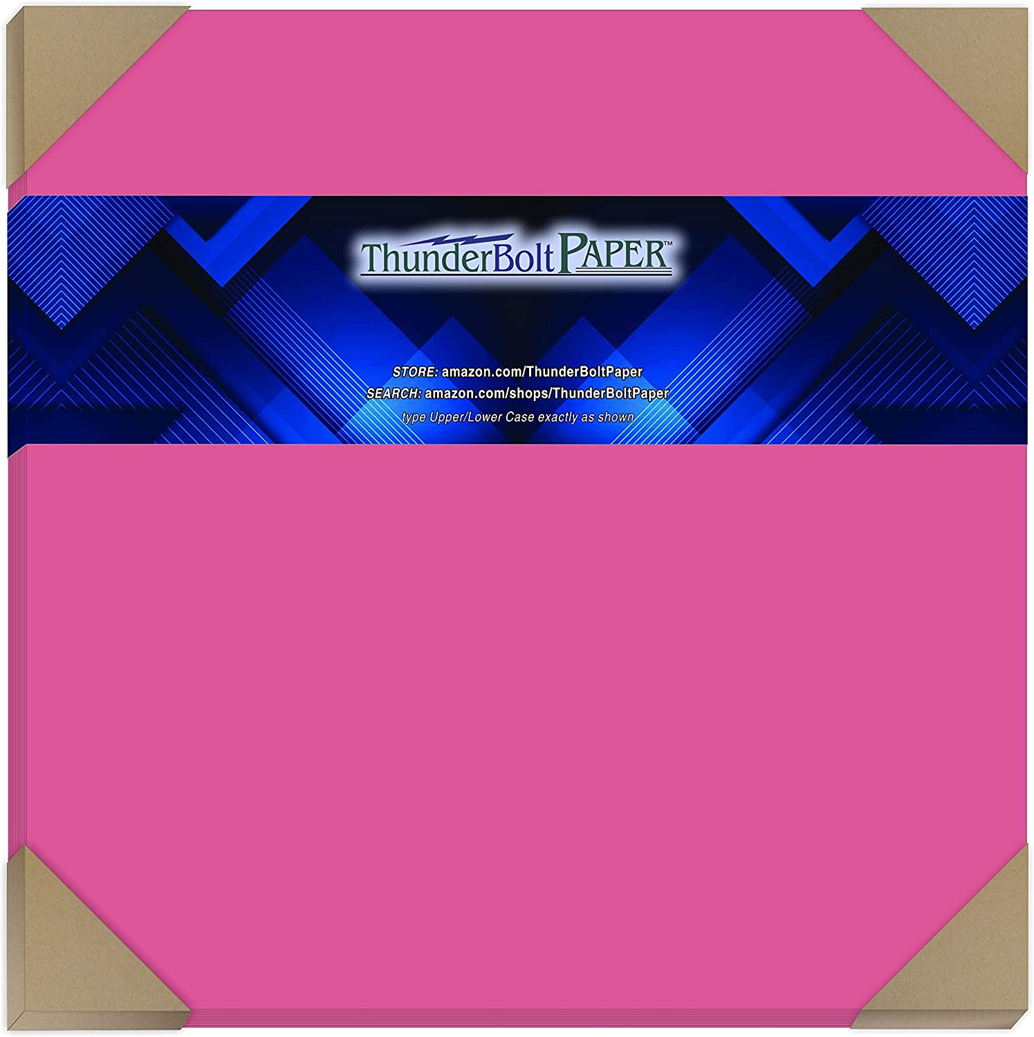 50 Factory outlet Bright Hot Pink 65lb Cover Card Paper X - Inches Finally popular brand 12 Scrapb