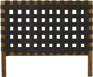 Padma's Plantataion Seagrass Open Weave Headboard, Queen