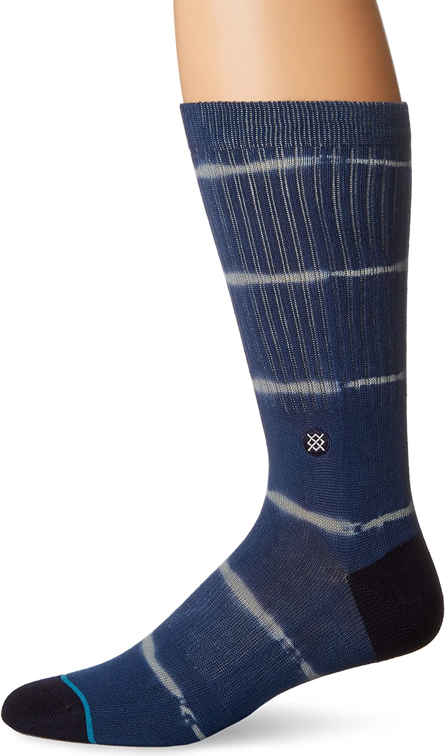 Stance Men's Frank Tie Dye Stripes Arch Support Classic Crew Sock