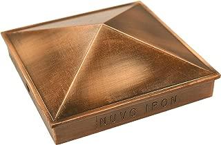 Nuvo Iron Decorative Pyramid Aluminium Post Cap for 4.5